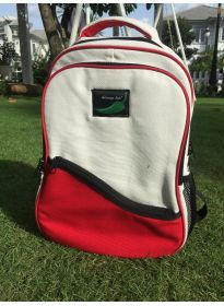 Two tone  Canvas school Bakcpack