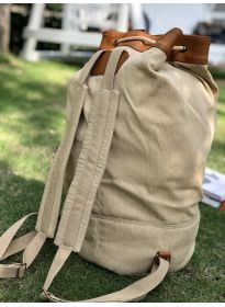 Man Ball Fashion Canvas Backpack