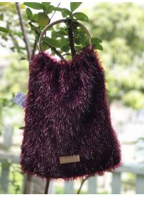 Shiny Fur Fashion Shoulder Purse